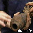Происшествия: В самом центре Житомира обнаружен 105 мм артснаряд