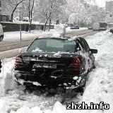 Житомир и Киев снова завалило снегом. ФОТОрепортаж