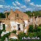 Житомир: Развалины келий иезуитского монастыря в Житомире могут рухнуть. ФОТО