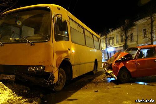 Аварія у Житомирі