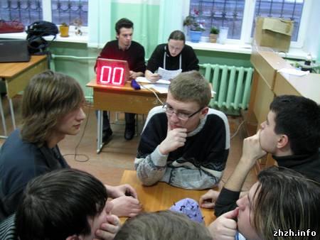 Команда «Капитан Джек» чемпион Житомира по игре Брейн-Ринг. ФОТО