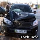 В Бердичеве на пешеходном переходе насмерть сбили женщину. ФОТО
