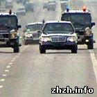В Житомире VIP-кортеж «с мигалками» чуть не сбил прохожих в районе автовокзала