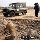 На аэродроме в Коростене обнаружена авиабомба и 152 мм снаряд. ФОТО