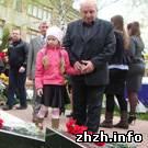 В Житомире прошел митинг-реквием, посвященный 25-й годовщине Чернобыльской аварии. ФОТО