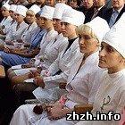 Лучшие медсестры Украины приехали на конкурс в Житомир