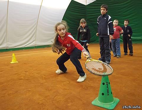 Большой теннис в г.Житомир отпраздновал 1 год. ФОТО