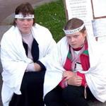 Общество: Наталья и Беата-Мария Биляк пикетируют Киевскую горадминистрацию