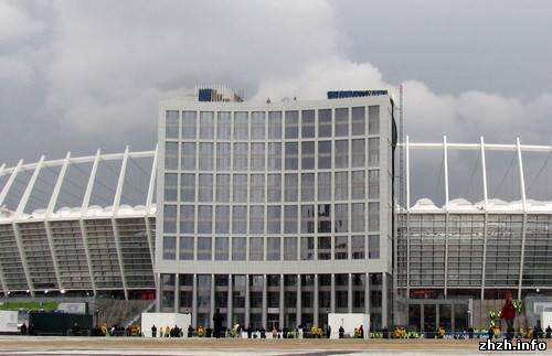 Открытие Олимпийского стадиона в Киеве