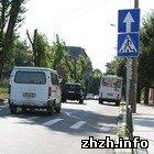 Житомир: В Житомире начали бороться с пробками на дорогах. ФОТО