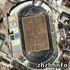 На реконструкцию Центрального стадиона в Житомире поступило 350 тысяч гривен