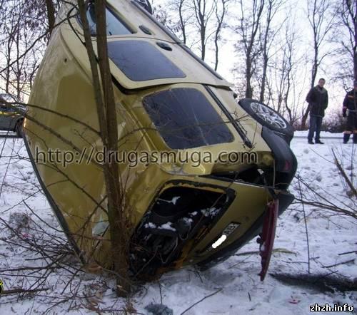 Аварія у Любарі