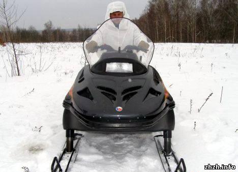 Житомирские пограничники получили новые снегоходы «Тайга». ФОТО