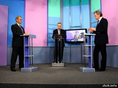 Пашинский и Присяжнюк «поругались» в прямом эфире