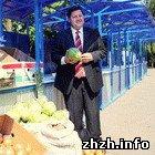 Житомир: Власти Житомира решили нестандартно решить проблему стихийной торговли. ФОТО
