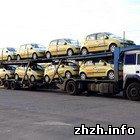 Податкова міліція перекрила в Житомирській області контрабанду авто