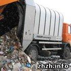 У Житомирі «Жигулі» в'їхали в сміттєвіз