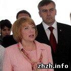 Екатерина Ющенко посетила в Житомире школу-интернат и открыла музей