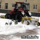 Зима для комунальщиков Житомира как всегда пришла неожиданно