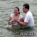 Культура: На Житомирщине прихожан церкви «Новое время» крестили в реке Гнилопять. ФОТО