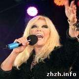 В Житомире Таисия Повалий дала концерт в поддержку Януковича. ФОТО