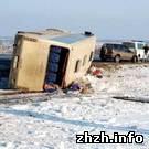 Происшествия: В Житомирской области перевернулся автобус