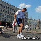 Спорт: Житомир встретил марафонцев хлебом и солью