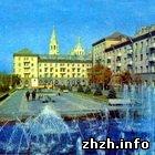 Житомир: В Житомире идет реконструкция свето-музыкального фонтана. ФОТО