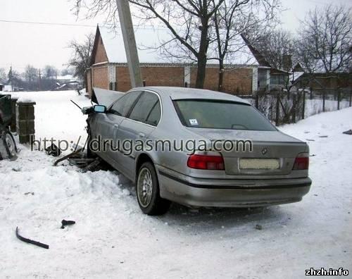 BMW 5 потрапив в аварію