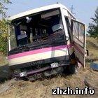 Происшествия: Водитель маршрутки Луцк-Житомир врезался в иномарку. 4 человека пострадали