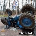 Происшествия: На Житомирщине микроавтобус