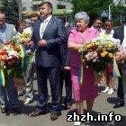 Шелудченко и Забела поздравили житомирян с Днем Конституции Украины. ФОТО
