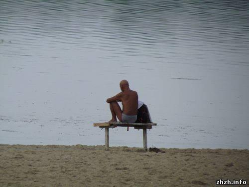 Гидропарк в Житомире. Душевые