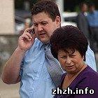 Житомир: Фонтан в Житомире достроили за 3 часа до открытия. ФОТО