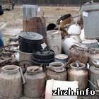 Общество: В Житомире показательно уничтожали самогонные аппараты. ФОТО. ВИДЕО