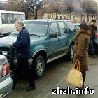 Происшествия: В центре Бердичева бизнесмен умышленно сбил женщину и скрылся. ФОТО