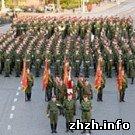Армия: Курсанты Житомирского военного института пройдут завтра по Крещатику