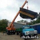 Экономика: В Житомире снесли незаконно установленный павильон шиномонтажа. ФОТО