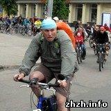 Спорт: В Житомире состоялся Всеукраинский велодень-2009. ФОТО
