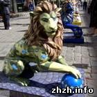 Культура: Лев «Интегрирующий». Одну из самых красивых скульптур подарили Житомиру. ФОТО