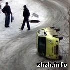 50 человек стали жертвами гололеда в Житомире