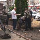 Житомир: В Житомире на Московской начались восстановительные работы. ФОТО