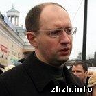 Политика: В Житомире Яценюк посетил центральный «Житний» рынок. ФОТО