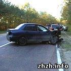 Происшествия: Три машины разбились под Житомиром. ФОТО