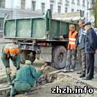 Житомир: В Житомире для инвалидов создают пандусы и съезды с тротуаров. ФОТО