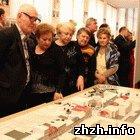 Житомир: Чиновники комментируют выставку «Будущее Житомира». ФОТО