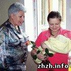 Общество: Шелудченко поздравила житомирских рожениц с Днем Матери. ФОТО
