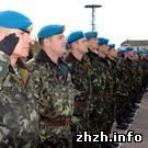 Армия: Житомирские воины-десантники отбыли в Минск для участия в параде. ФОТО