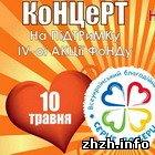 В Житомире на площади Королёва волонтёры построят гигантское сердце