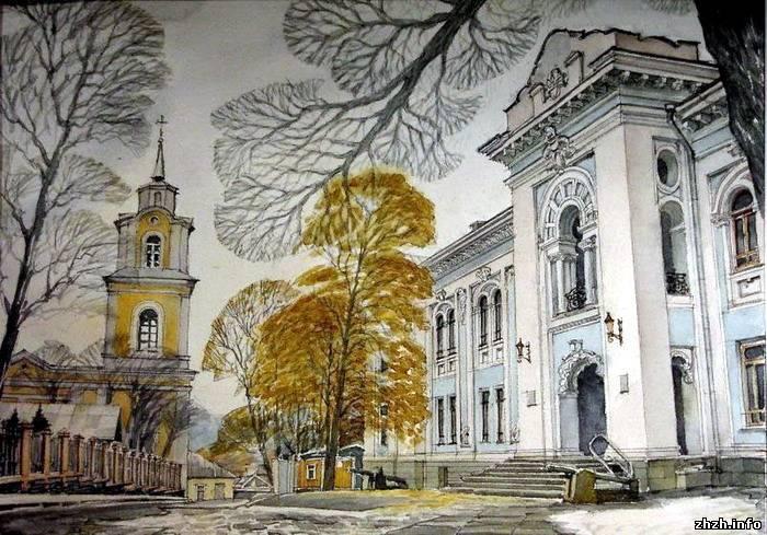 Древний житомир. Цветные фотографии